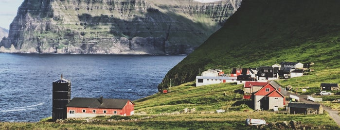 Trøllanes is one of Faroe Island.