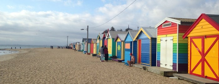Brighton Bathing Box is one of Eastern Australia Guide.