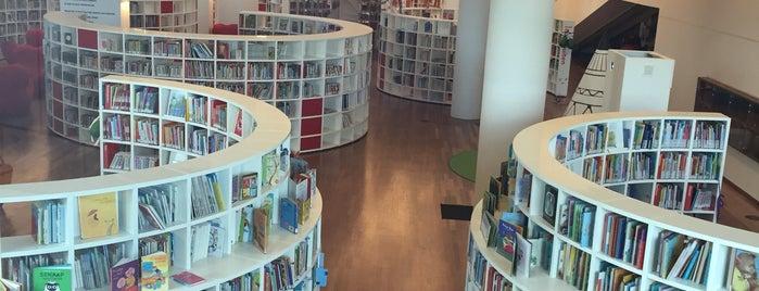 Openbare Bibliotheek Amsterdam is one of Europe 16.