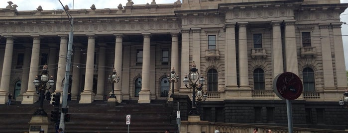 Parliament House of Victoria is one of Eastern Australia Guide.