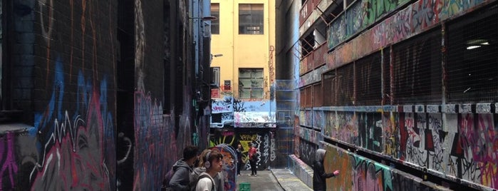 Hosier Lane is one of Eastern Australia Guide.