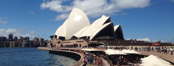 Sydney Opera House is one of Eastern Australia Guide.