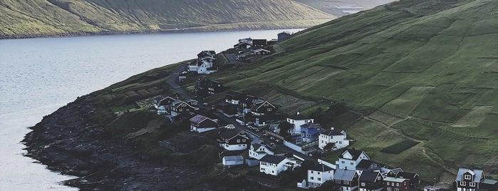 Kvivik is one of Faroe Island.