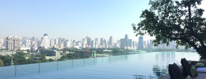 SO Sofitel Bangkok is one of 50 Best Swimming Pools in the World.