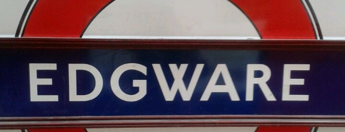 Edgware London Underground Station is one of Underground Stations in London.