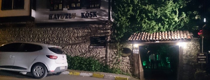 Havuzlu Köşk Restaurant is one of Omur Akkor.