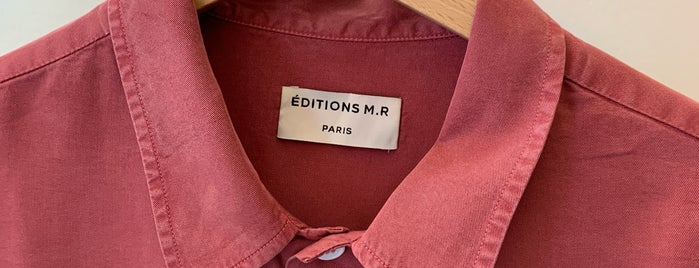 Éditions M.R is one of Paris.