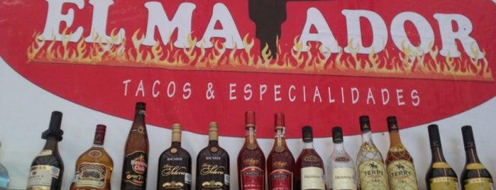 """Taquería """"El Matador"""" is one of Morelia."""