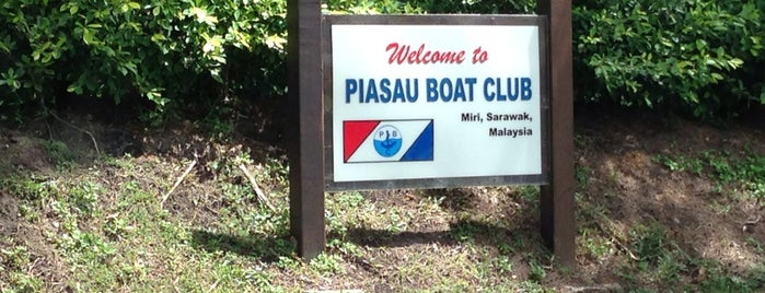 Piasau Boat Club is one of Orte, die Rahmat gefallen.