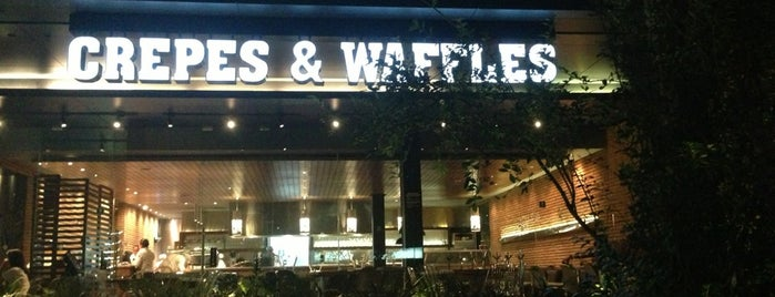Crepes & Waffles is one of DFisin.