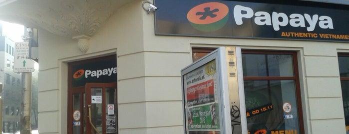 Papaya is one of Človek: сохраненные места.