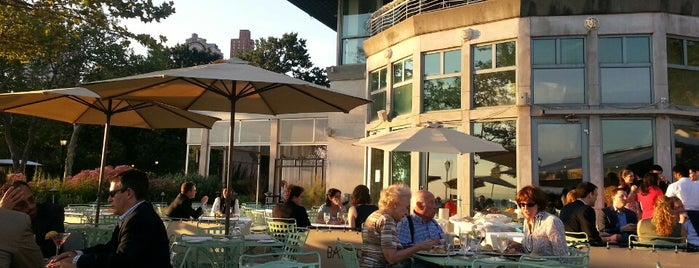 Battery Gardens Restaurant is one of nyc - outdoor wine/dine.