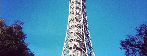 Petřínská rozhledna | Petřín Lookout Tower is one of Prague.