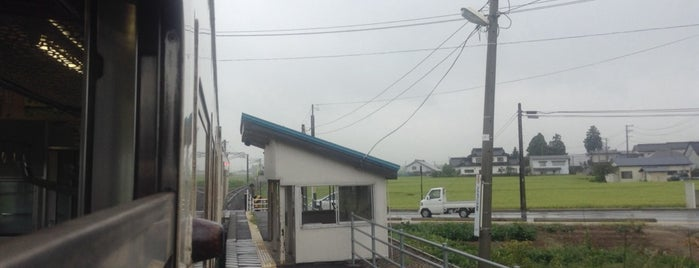 Dojima Station is one of JR 미나미토호쿠지방역 (JR 南東北地方の駅).