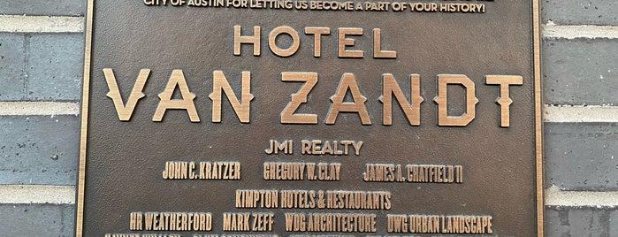 Kimpton Hotel Van Zandt is one of สถานที่ที่ Lindsaye ถูกใจ.