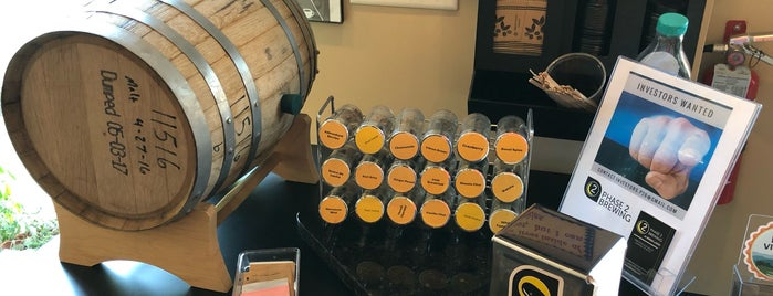 Phase 2 Brewing is one of Loudoun Ale Trail.