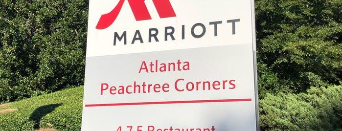 Atlanta Marriott Peachtree Corners is one of Tempat yang Disimpan Holly.