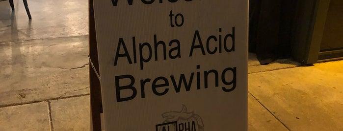 Alpha Acid Brewing is one of Locais salvos de Alex.