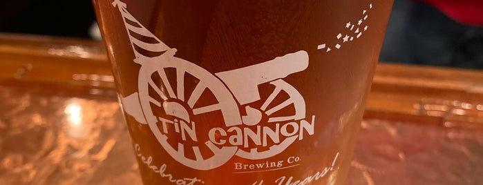 Tin Cannon Brewing Co is one of Posti salvati di Rachel.