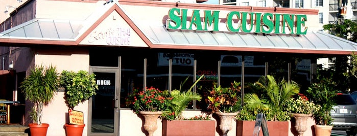 Siam Cuisine is one of Gayborhood #FortLauderdale #WiltonManors.