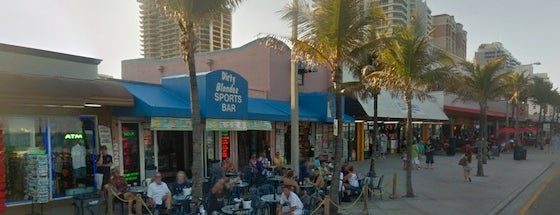 Dirty Blondes Sport Bar is one of Top Ten Dive Bars in Broward County.