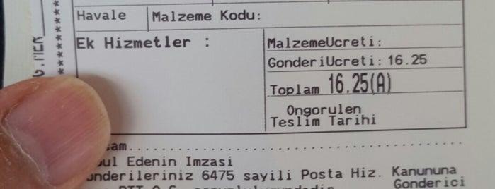 PTT Üsküdar Kargo Dağıtım Merkezi is one of Tempat yang Disukai Korhan.