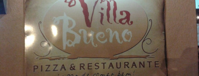 Villa Bueno Pizza & Restaurante is one of Lieux sauvegardés par Cesar.