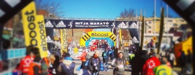 Mitja Marató de Granollers is one of Tempat yang Disukai Alfred.