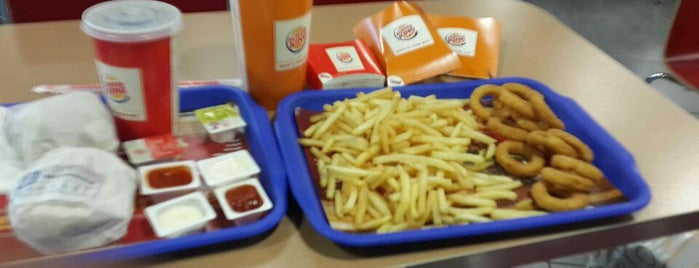 Burger King is one of Orte, die Yunus gefallen.