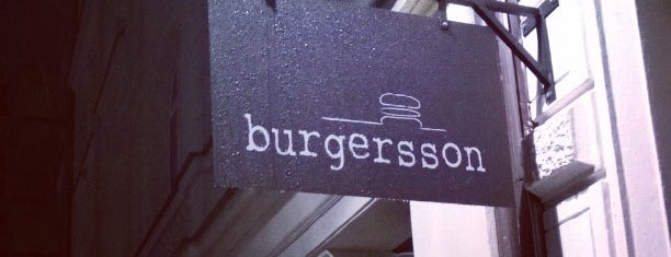 Burgersson is one of Gothenburg!.