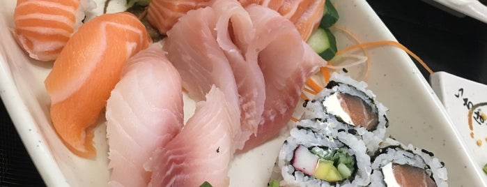 Misto Sushi Bar is one of Vegan SP.