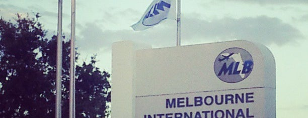 Melbourne International Airport (MLB) is one of North American airports.