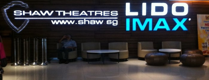 IMAX Theatres Lido is one of Locais curtidos por MAC.