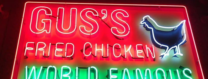 Gus's World Famous Fried Chicken is one of Lieux sauvegardés par Justin.