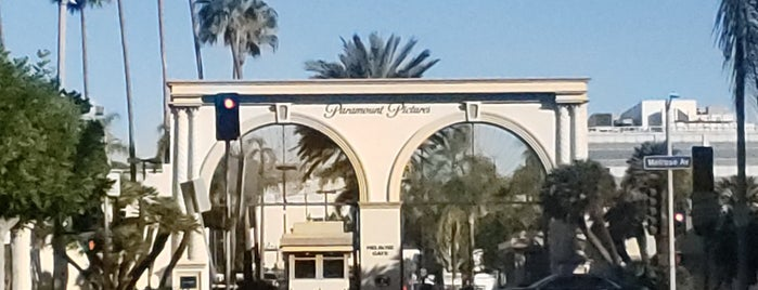 Paramount Pictures Melrose Gate is one of Kickin' Up Dust Tour 2013.