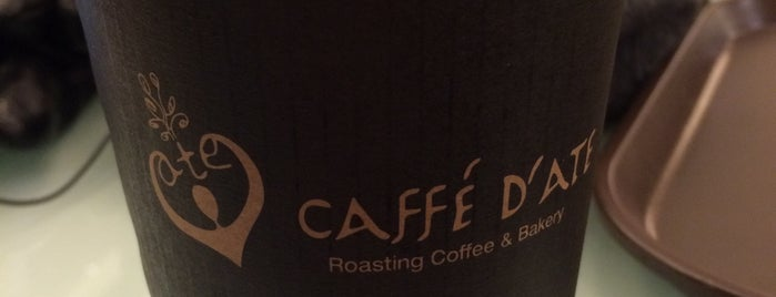 Caffe D'ate is one of Ben's list for Coffee and Cafe.