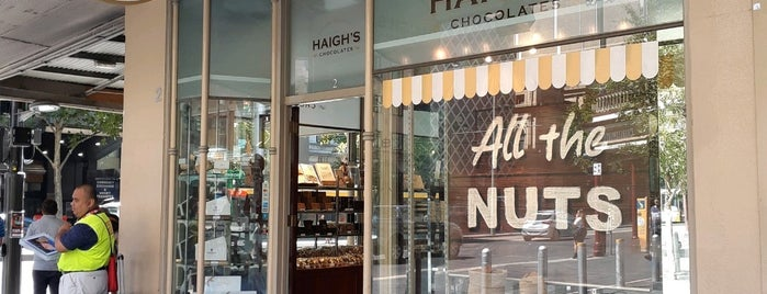 Haigh's Chocolates is one of Australia - Must do.