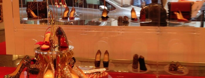 Christian Louboutin is one of Moscow.