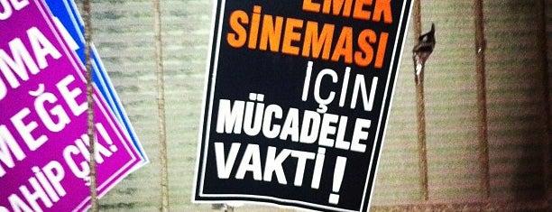 Emek Sineması is one of Ahu'nun Beğendiği Mekanlar.