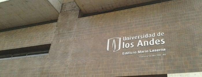 Universidad de Los Andes is one of Tempat yang Disukai Sergio.