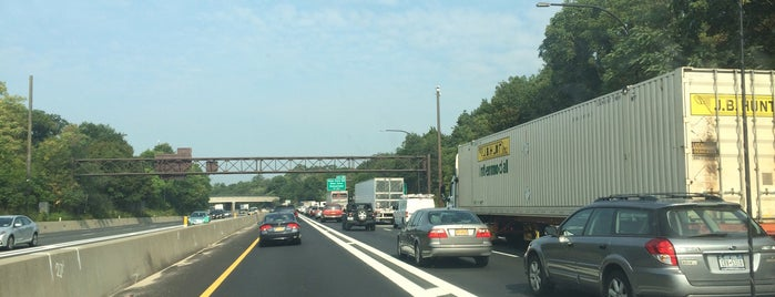 Long Island Expressway at Exit 40 is one of Long Island highways and crossings.