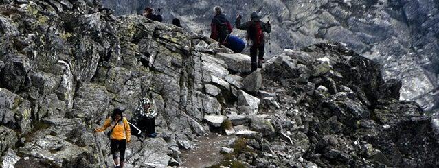 Rysy (2503 m n. m.) is one of Turistické body v TANAP-e.
