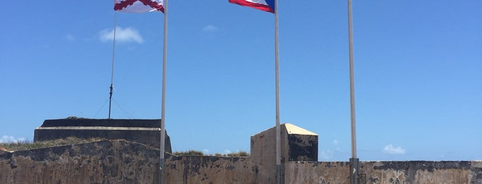 Castillo San Cristóbal is one of Go Ahead, Be A Tourist.