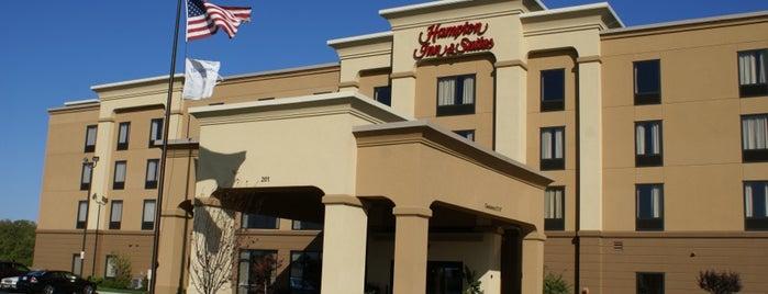 Hampton Inn & Suites Toledo Perrysberg is one of Andrew 님이 좋아한 장소.