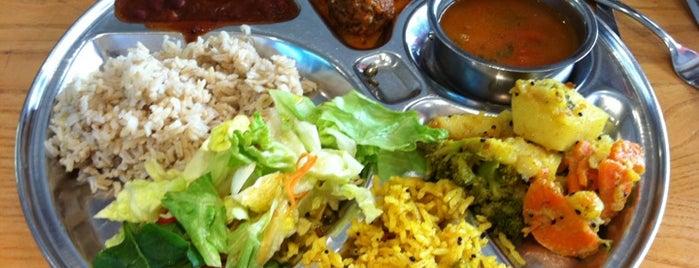 Govinda's Restaurant is one of London, baby!.