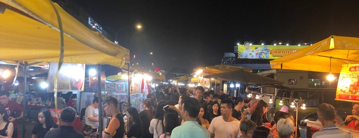 night market, Taman Connaught is one of 🚁 Malaysia 🗺.
