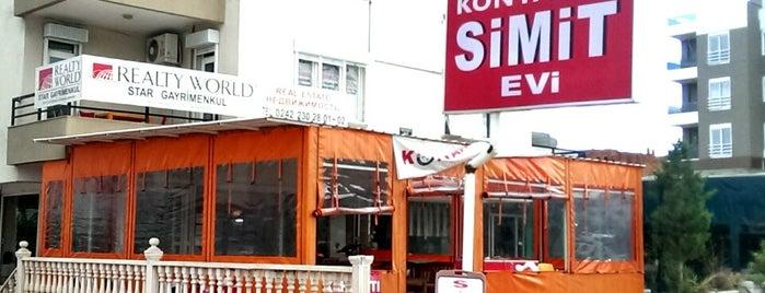 Konyaaltı Simit Evi is one of สถานที่ที่บันทึกไว้ของ Olcay.