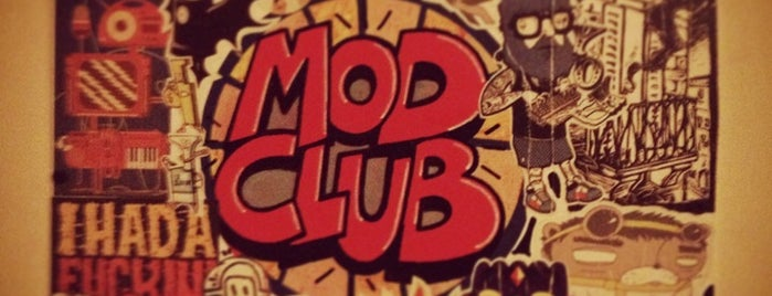 MOD is one of St.Petersburg's nightclubs.