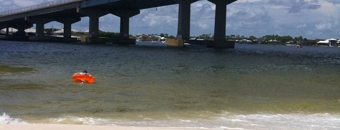 Perdido Pass is one of Gulf Shores.