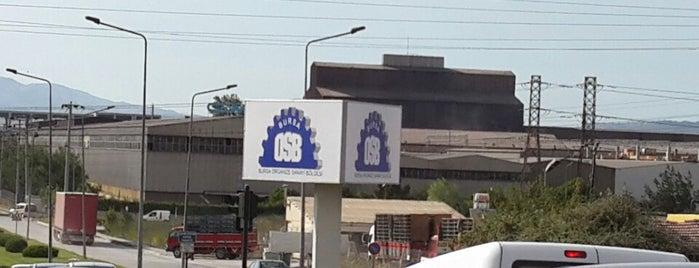 Bursa Organize Sanayi Bölgesi is one of Erkan'ın Beğendiği Mekanlar.